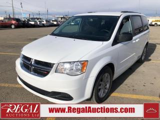 Used 2016 Dodge Grand Caravan SXT 4D Wagon 3.6L for sale in Calgary, AB