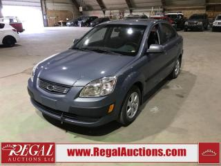 Used 2009 Kia Rio 4D Sedan for sale in Calgary, AB