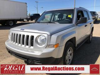 Used 2012 Jeep Patriot 4D Utility for sale in Calgary, AB