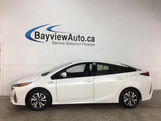 Used 2018 Toyota Prius Prime Upgrade - LTHR! NAV! PLUG-IN HYBRID! for sale in Belleville, ON
