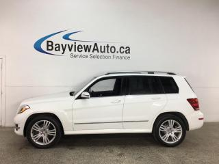 Used 2015 Mercedes-Benz GLK-Class - AWD! DIESEL! NAV! HTD LEATHER! PANOROOF! + MORE! for sale in Belleville, ON