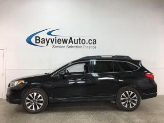 Used 2017 Subaru Outback 3.6R Limited - AWD! HTD LEATHER! SUNROOF! NAV! LOADED! for sale in Belleville, ON