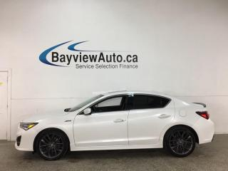 Used 2020 Acura ILX Premium A-Spec - SUNROOF! HTD LEATHER! ADAPTIVE CRUISE! + MUCH MORE! for sale in Belleville, ON