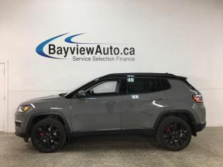 Used 2019 Jeep Compass Limited - 4X4! LEATHER! NAV! SUNROOF! 19