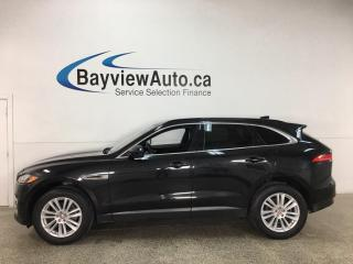 Used 2018 Jaguar F-PACE 20d Prestige - AWD! DIESEL! LEATHER! NAV! PANOROOF! for sale in Belleville, ON