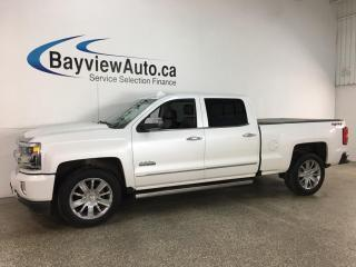 Used 2018 Chevrolet Silverado 1500 High Country - 4X4! 6.2L! PWR BOARDS! LTHR! ROOF! NAV! for sale in Belleville, ON