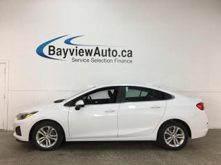 Used 2019 Chevrolet Cruze LT - AUTO! ONSTAR! REVERSE CAM! ALLOYS! + MORE! for sale in Belleville, ON