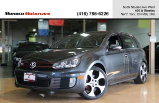 Used 2010 Volkswagen Golf M/T - LEATHER|SUNROOF|NAVIGATION|HEATED SEAT for sale in North York, ON