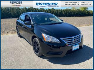 Used 2015 Nissan Sentra 1.8 SL Upgraded Wheels | Bluetooth | CD Player for sale in Wallaceburg, ON