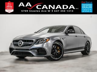 Used 2018 Mercedes-Benz E-Class AMG E63 S EDITION 1 for sale in North York, ON