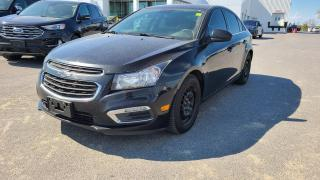 Used 2016 Chevrolet Cruze LT - BLUETOOTH, A/C for sale in Kingston, ON