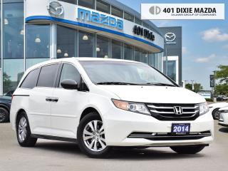 Used 2014 Honda Odyssey SE ONE OWNER| NO ACCIDENTS| DASH CAM FRONT AND REA for sale in Mississauga, ON