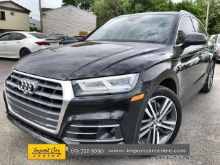 Used 2018 Audi Q5 2.0T Technik S-LINE  DRIVER'S ASSIST  HUD  B&O SOU for sale in Ottawa, ON