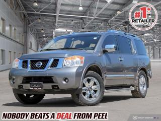 Used 2013 Nissan Armada Platinum for sale in Mississauga, ON