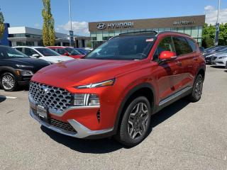 New 2021 Hyundai Santa Fe HEV Luxury for sale in Port Coquitlam, BC