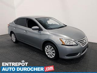 Used 2014 Nissan Sentra S - Économique - Bluetooth - Climatiseur for sale in Laval, QC