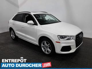 Used 2017 Audi Q3 Komfort- AWD- Bluetooth - Toit Panoramique - Cuir for sale in Laval, QC