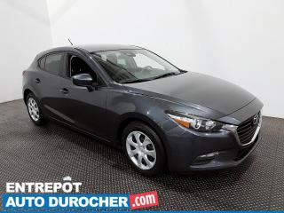 Used 2018 Mazda MAZDA3 Sport GX - Bluetooth - Caméra de Recul - Climatiseur for sale in Laval, QC
