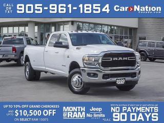 Used 2020 RAM 3500 Big Horn 4x4| DUALLY| CUMMINS DIESEL| LOW KM'S| for sale in Burlington, ON