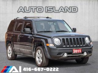 Used 2011 Jeep Patriot LIMITED**LEATHER**AUTOMATIC for sale in North York, ON