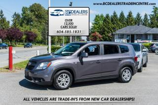 Used 2012 Chevrolet Orlando LT, Only 72,000 km's, Sunroof, CD, AC, Very Clean, Local! for sale in Surrey, BC