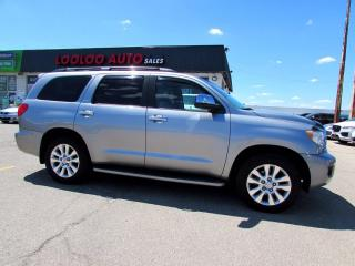 Used 2008 Toyota Sequoia Platinum 4WD 5.7L DVD Navi Camera 7 Pass Certified for sale in Milton, ON