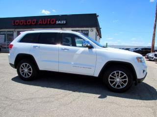 Used 2014 Jeep Grand Cherokee Limited 4WD Navigation Camera Leather Certified for sale in Milton, ON