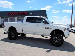 Used 2016 RAM 2500 Lifted Laramie Crew Cab 4WD 6.7L Diesel CUMMINS Certified for sale in Milton, ON