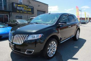 Used 2014 Lincoln MKX AWD/LIMITED/MOONROOF/NAV/BACKUP CAMERA/LEATHER INTERIOR for sale in Newmarket, ON