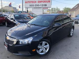 Used 2014 Chevrolet Cruze Diesel 2LT Leather/Camera/Bluetooth/Alloys for sale in Mississauga, ON