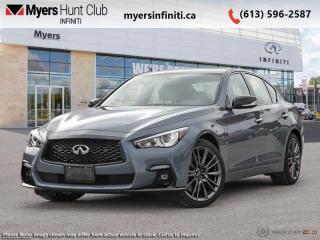 New 2021 Infiniti Q50 Red Sport 400 l-LINE  - Leather Seats for sale in Ottawa, ON