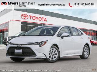 New 2021 Toyota Corolla LE CVT  - Heated Seats - $148 B/W for sale in Ottawa, ON