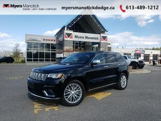Used 2018 Jeep Grand Cherokee Summit  - Navigation - $320 B/W for sale in Ottawa, ON
