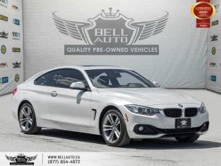 Used 2017 BMW 4 Series 430i xDrive, COUPE, AWD, NAVI, HEADS-UP DIS, REARCAM, SUNROOF for sale in Toronto, ON