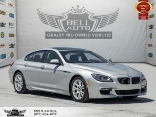 Used 2015 BMW 6 Series 640i xDrive, AWD, M PKG, HEADS-UP DIS, NAVI, REAR CAM, PANO for sale in Toronto, ON