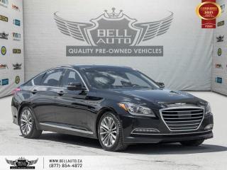 Used 2015 Hyundai Genesis Sedan Technology, AWD, HEADS-UP DIS, NAVI, REARCAM, PANO for sale in Toronto, ON