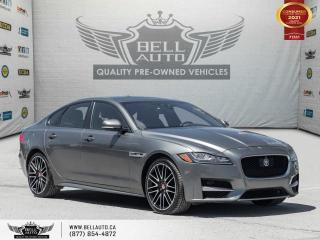 Used 2017 Jaguar XF 20d R-Sport, AWD, HEADS-UP DIS, NAVI, 360CAM, SENSORS, PANO for sale in Toronto, ON