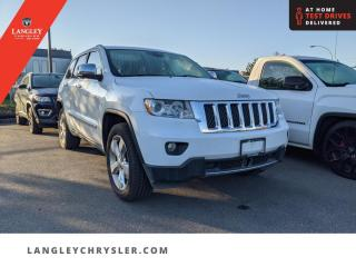Used 2013 Jeep Grand Cherokee Overland  Low KM/ Accident Free/ DVD/ Navi/ Leather for sale in Surrey, BC