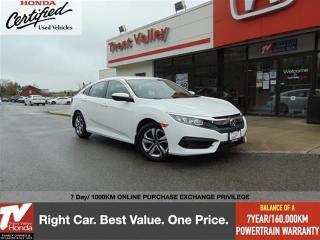 Used 2017 Honda Civic SEDAN LX for sale in Peterborough, ON