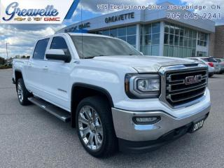 Used 2018 GMC Sierra 1500 SLE  -  Bluetooth for sale in Bracebridge, ON