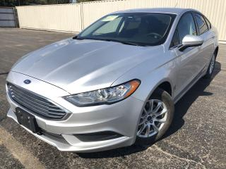 Used 2018 Ford Fusion S 2WD for sale in Cayuga, ON