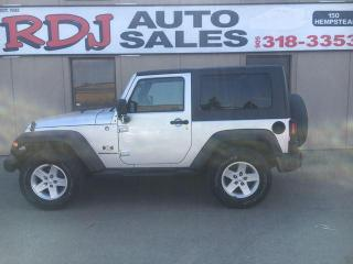 Used 2007 Jeep Wrangler X 4X4 ACCIDENT FREE, ONLY 59000KM for sale in Hamilton, ON