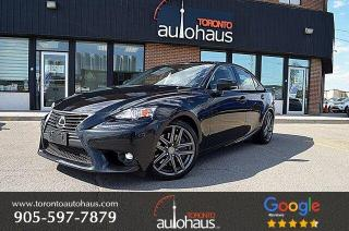 Used 2016 Lexus IS 300 I BSM I LEATHER I NAVI I ROOF for sale in Concord, ON