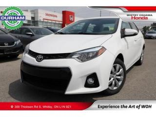 Used 2016 Toyota Corolla S | Manual for sale in Whitby, ON