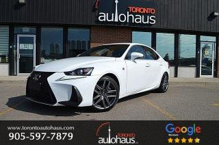 Used 2017 Lexus IS 350 F-SPORT I NAVI I SUNROOF I OFF-LEASE for sale in Concord, ON