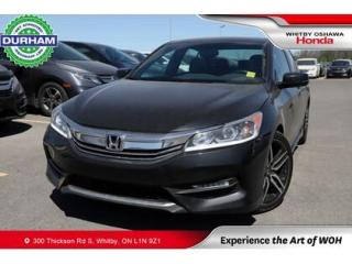 Used 2017 Honda Accord Sport | Manual | Power Moonroof for sale in Whitby, ON