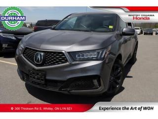 Used 2020 Acura MDX A-Spec SH-AWD   Automatic for sale in Whitby, ON