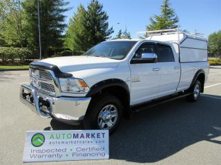Used 2016 RAM 3500 SLT, CREW, 8' BOX, PRISTINE, INSPECTED, WARRANTY, BCAA MEMBERSHIP! for sale in Surrey, BC