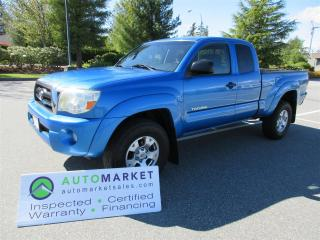 Used 2008 Toyota Tacoma TRD, AUTO, V6, 4X4, SR5, FULLY INSPECTED, DETAILED, FREE WARRANTY & BCAA MEMBERSHIP! for sale in Surrey, BC