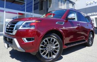 New 2021 Nissan Armada Platinum for sale in Duncan, BC